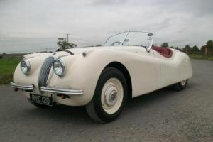 1954 Jaguar XK120 3.4 OTS. Old English White