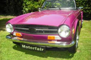 1973 Triumph TR6 HISTORIC ROAD TAX QUALIFYING, Overdrive 3rd & 4th , UK Vehicle