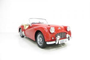 A Unique 'Works' Designated Triumph TR3 with Exceptional Historic Provenance