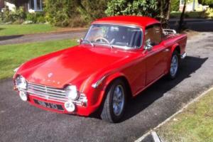 Triumph TR4a MODIFIED WITH SURREY ROOF Photo