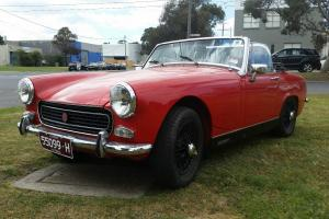1969 MG Miidget in VIC
