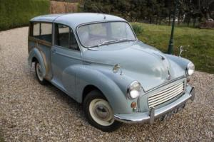 Morris Minor Traveller PETROL MANUAL 1961/8