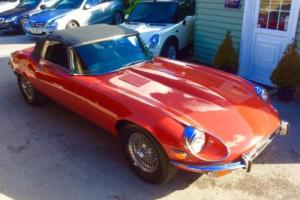 1973 Jaguar E-Type 5.4 2dr Roadster LHD New MOT