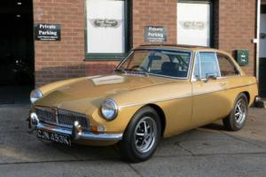 1972 MGB GT, Harvest Gold, Stunning bodywork with exceptional panel gaps