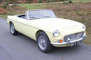 MGC Roadster Fully Ground Up Restored MGB