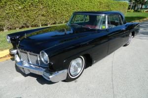 1956 CONTINENTAL MARK II RAVEN BLACK RED AND GREY INTERIOR ICE COLD A/C PS PB PW