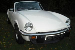 1973 Triumph Spitfire MK4 Historic road tax qualifying
