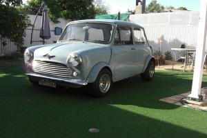 Morris Mini 1969 2D Sedan Manual 1275 CC Carb Seats
