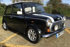 1992 Rover Mini Cooper. 1275cc. Factory black. carb version. Very rare.