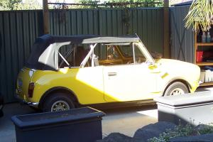 1972 Mini Clubman Convertible Photo
