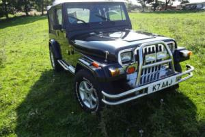 1993 JEEP WRANGLER 4.0, 5 SPEED, 4X4 (black)