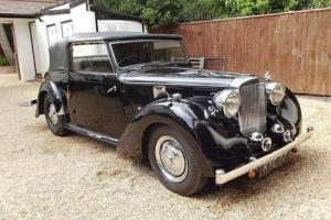 1948 Alvis TA14 Three Position Drophead Coupé by Carbodies