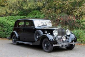 1939 Rolls-Royce Wraith Park Ward Saloon WHC37 Photo
