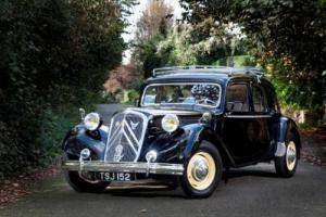 1953 Citroën Traction Avant Six Familiale