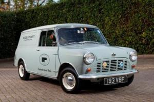 1963 Austin Mini Van (Wood & Pickett Delivery)