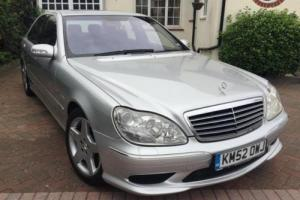 2002 Mercedes-Benz S55 AMG Kompressor (long wheelbase)