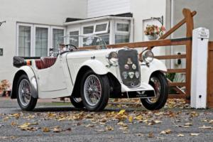 SINGER NINE 44 Sports Tourer 1933 Petrol Manual in White