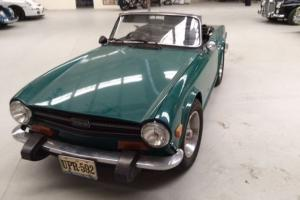 Triumph TR 6 in SA Photo