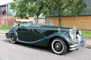 1951 Jaguar Mk. V Drophead Coupé (3½ Litre) Photo