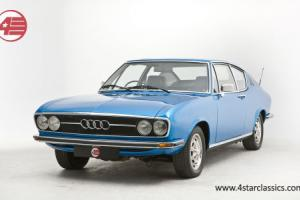 Audi 100 Coupe S 1871cc Blue 26k miles.  Photo