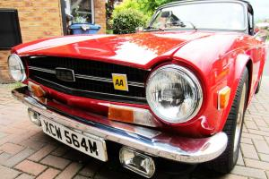 Triumph TR6 Convertible 2.5Pi 6 cylinder Manual Overdrive 1974 Roadtax Free  Photo