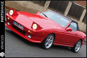 TVR 350i TASMIN WEDGE RED Petrol V8 3.5 Engine CONVERTIBLE SPORTS CLASSIC 87 E