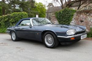 1992 JAGUAR XJ-S 4.0 CONVERTIBLE AUTO, SOLENT BLUE, MAGNOLIA LEATHER