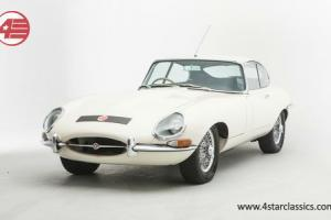 Jaguar E-Type series 1 1966 white  Photo