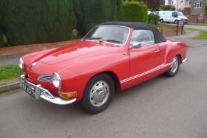 VW Karmann Ghia Convertible LHD 1970.