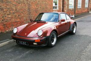 1986 Porsche 911 Carrera 3.2 Supersport (SSE) Very rare RHD