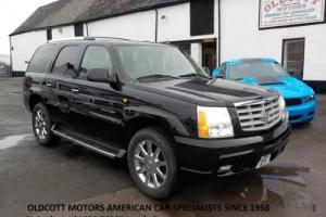 2004 CADILLAC ESCALADE 6.0 LITRE 4X4 AUTOMATIC 32,000 MILES, CREAM LEATHER