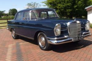 1965 Mercedes-Benz 230S 4 Door Saloon Manual