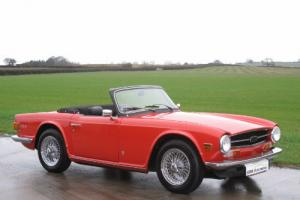 1974 M - Triumph TR6 125bhp - CR Chassis - UK Car Photo