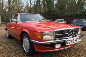 1987 E reg Mercedes-Benz 300SL R107 300 SL 41000Miles Last Owner 26 Years Photo