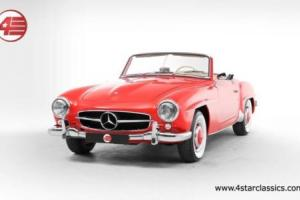 FOR SALE: Mercedes-Benz 190 SL 1958