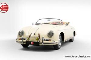 FOR SALE: Porsche 356A Speedster