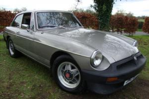 MG B GT L.E. Limited Edition 1981 Silver