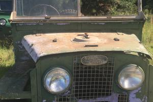 "Rare Series 1 Land Rover 86"" 1954 Original 1 Owner Vehicle Running Condtion"