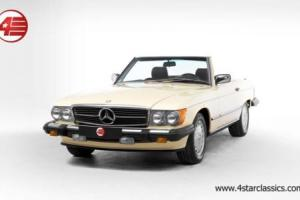 FOR SALE: Mercedes 560 SL 5.6 V8 Auto 1987