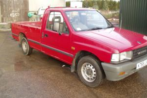 VAUXHALL BRAVA BEDFORD ISUZU PICK UP TRUCK 2.3 PETROL EXCEPTIONAL 67,000 MILES Photo