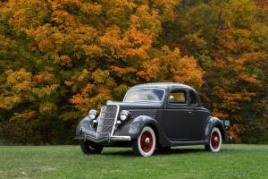 Ford: Other Deluxe Rumble seat coupe