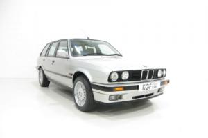 Quite Possibly the Best BMW E30 325i Touring with One Owner and 9,896 Miles