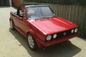 VW Golf Convertible 1976 in VIC