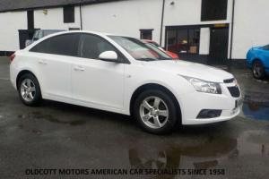 2012 CHEVROLET CRUZE 1.6 LITRE PETROL 4 DOOR 5 SPEED MANUAL 42,000 MILES