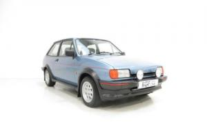 A Scintillating Ford Fiesta XR2 with an Incredible 11,188 Miles from New!