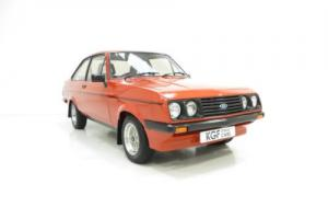 An Exceptional Ford Escort Mk2 RS2000 Custom in Show Condition