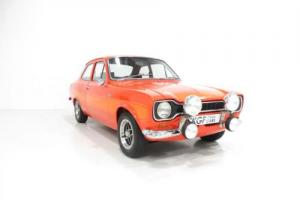 A Genuine, Very Rare AVO Mk1 Ford Escort RS2000 with Press Vehicle Provenance.