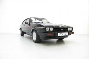 Spectacular Ford Capri 2.8 Injection Special Detailed to Original Specification