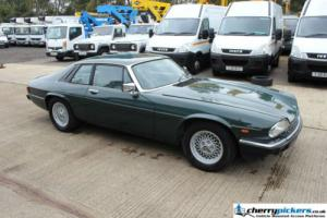 1989 Jaguar XJS V12 Green Classic Car Automatic Coupe Photo