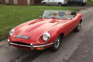1968 Jaguar E-type Roadster Photo